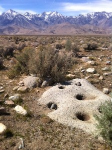 Site of Paiute Village near Independence Creek