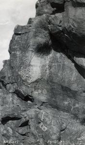 Petroglyphs at Stahl Site