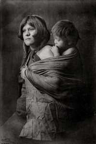 Hopi Mother and Child, Edward Curtis