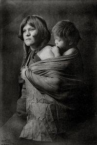 Hopi Mother and Child, Edward Curtis