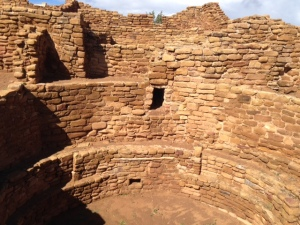 Great kiva at Mesa Verde