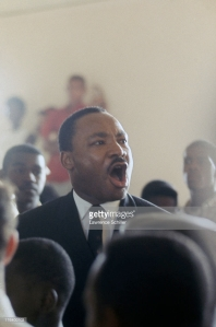 Dr. King in Watts